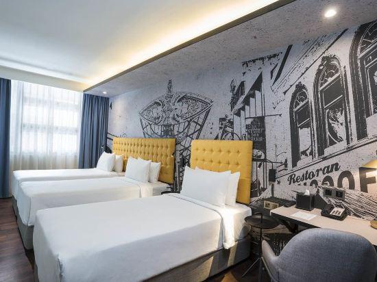 吉隆坡中央藝術坊彩鴻酒店(Travelodge Central Market (Formerly Known As GEO Hotel))家庭三人房