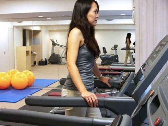 南海大阪輝盛國際公寓(Fraser Residence Nankai Osaka)健身房