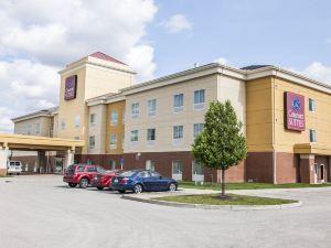 南印第安納波利斯機場康福特套房酒店