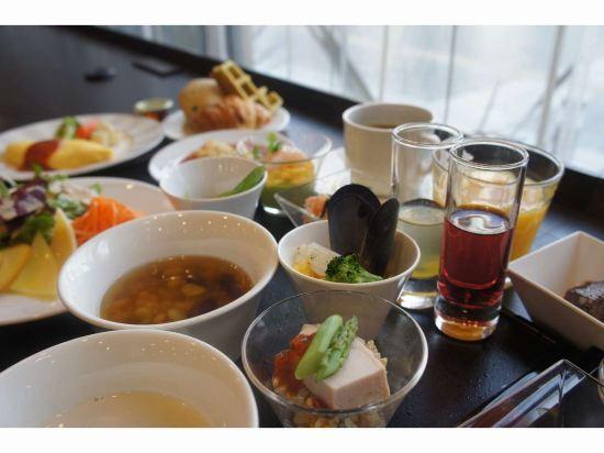 福岡天然温泉博多運河城前多米高級酒店(Hotel Dormy Inn Premium Hakata Canalcitymae Fukuoka)餐廳