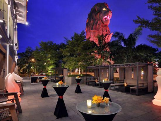 新加坡聖淘沙艾美酒店(Le Méridien Singapore, Sentosa)外觀