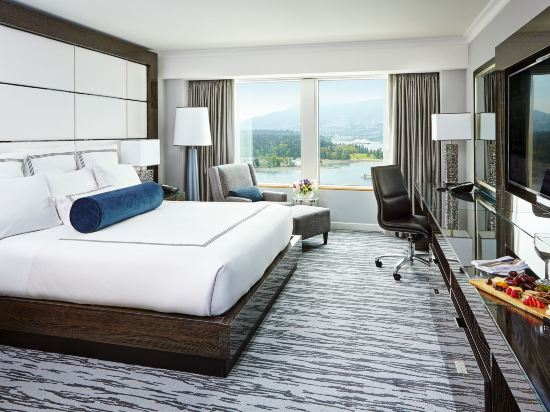 温哥華泛太平洋酒店(Pan Pacific Vancouver)太平洋俱樂部豪華房