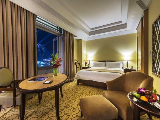 新加坡富麗敦酒店(The Fullerton Hotel Singapore)碼頭灣景房