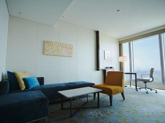 大阪萬豪酒店(Osaka Marriott Miyako Hotel)一卧室精緻套房