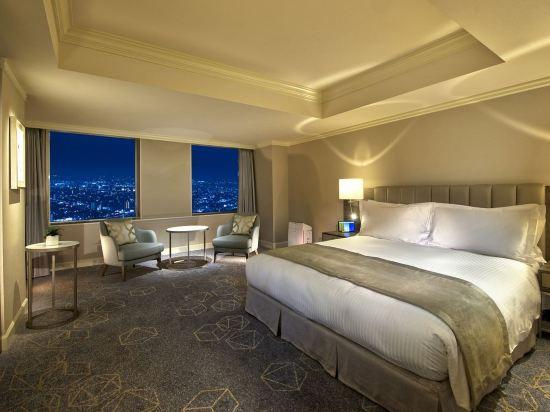 名古屋萬豪酒店(Nagoya Marriott Associa Hotel)高樓層豪華大床房