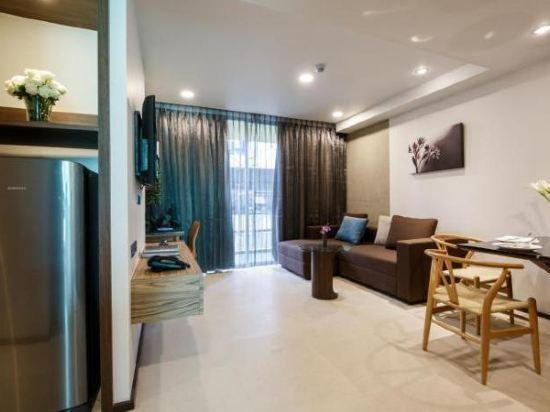 曼谷利特公寓(LiT BANGKOK Residence)一卧室豪華套房