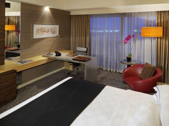 新加坡濱華大酒店(Marina Mandarin Singapore)君華會客房
