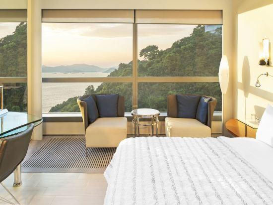 香港數碼港艾美酒店(Le Méridien Cyberport)智能海景客房