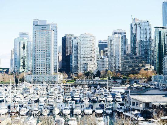 海柏温哥華威斯汀酒店(The Westin Bayshore Vancouver)外觀