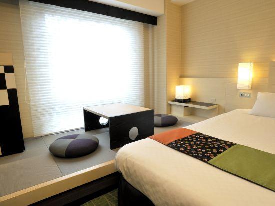 京都新阪急酒店(Hotel New Hankyu Kyoto)日式雙床房