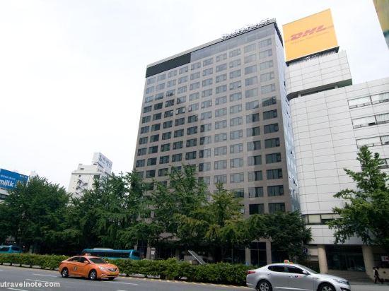 首爾南大門輝盛坊國際公寓(Fraser Place Namdaemun)外觀