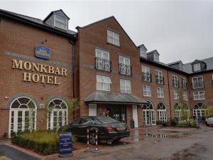 芒克巴貝斯特韋斯特酒店(BEST WESTERN Monkbar Hotel)