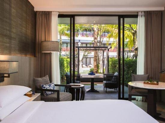 普吉島萬豪奈陽海灘水療度假村(Phuket Marriott Resort and Spa, Nai Yang Beach)花園小屋池畔房