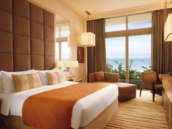 新加坡濱海灣金沙大酒店(Marina Bay Sands Singapore)天空景豪華特大床房