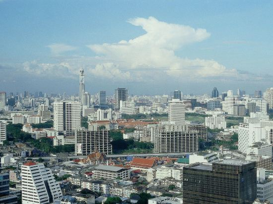 諾富特曼谷素坤逸酒店(Novotel Bangkok Ploenchit Sukhumvit)眺望遠景