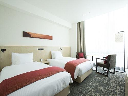 新宿花JR九州酒店(Jr Kyushu Hotel Blossom Shinjuku)高級雙床房