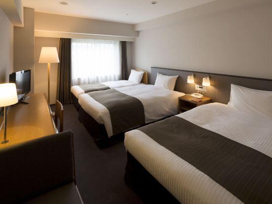 京都蘭威特酒店(Aranvert Hotel Kyoto)標準三人房