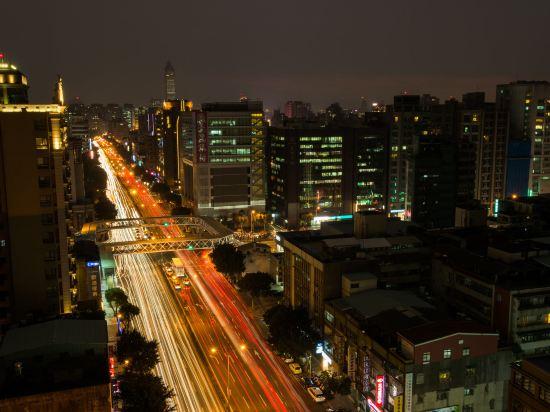 台北三德大飯店(Santos Hotel)眺望遠景