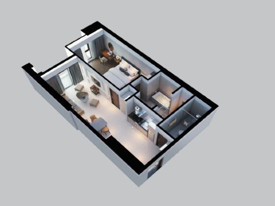 瑞亞茲阿爾塔拉套房(Altara Suites by Ri-Yaz)一卧室極樂套房