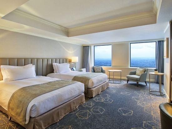 名古屋萬豪酒店(Nagoya Marriott Associa Hotel)高樓層豪華雙床房