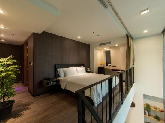 曼谷利特公寓(LiT BANGKOK Residence)兩卧室複式套房
