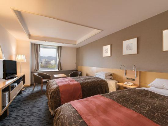 札幌公園飯店(Sapporo Park Hotel)高級雙床超大客房