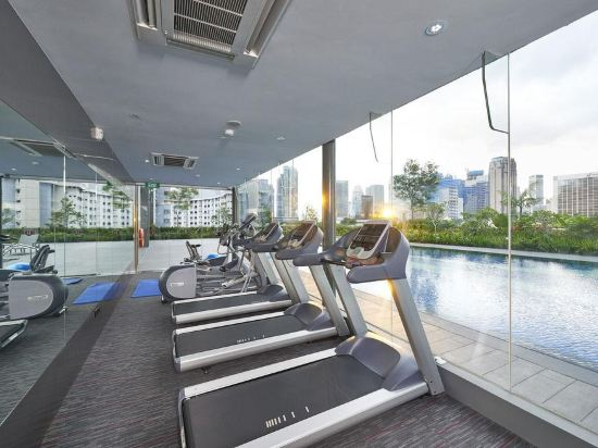 新加坡莊家大酒店(Hotel Boss Singapore)室內游泳池