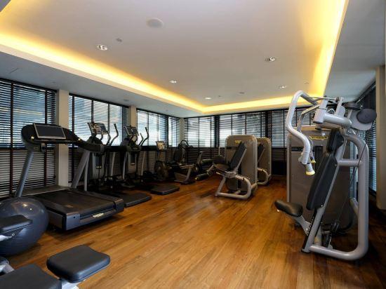 新加坡聖淘沙艾美酒店(Le Méridien Singapore, Sentosa)健身房