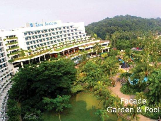 新加坡香格里拉聖淘沙度假酒店(Shangri-La's Rasa Sentosa Resort & Spa)外觀