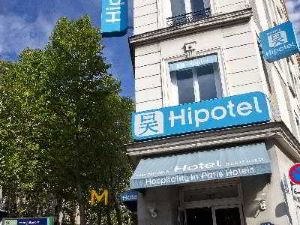 巴黎20區貝爾格蘭德市府西波特酒店(Hipotel Paris Belgrand Mairie du 20ème)