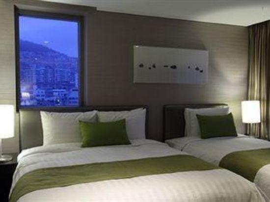阿文特里釜山酒店(Aventree Hotel Busan)豪華家庭房