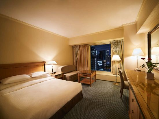 大阪麗嘉皇家酒店(Rihga Royal Hotel)標準大床房