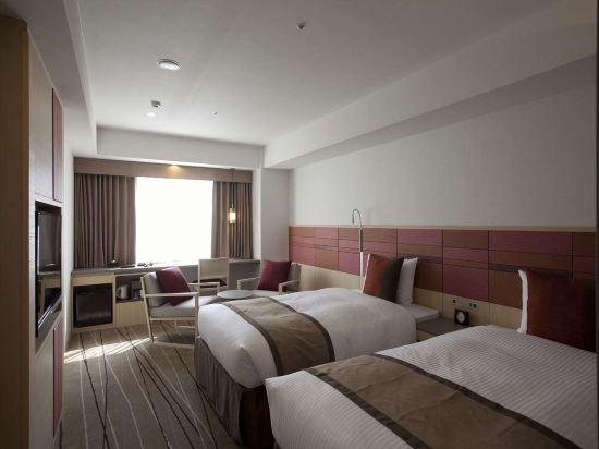 JR九州花博中心酒店(Jr Kyushu Hotel Blossom Hakata Central)豪華雙床房