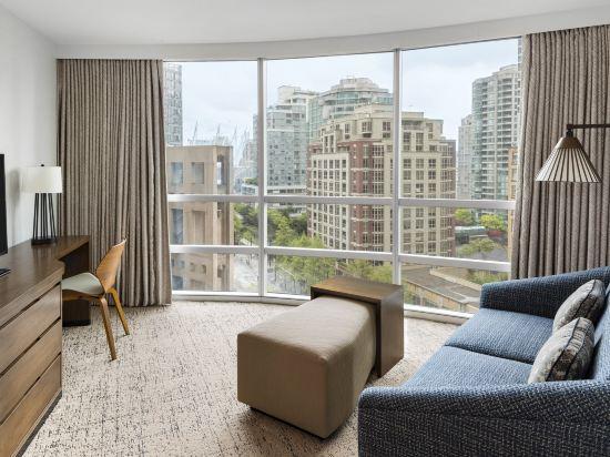 温哥華威斯汀大酒店(The Westin Grand, Vancouver)高級豪華套房
