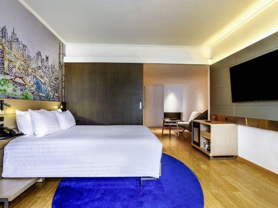 諾富特暹羅廣場酒店(Novotel Bangkok on Siam Square)轉角高級房