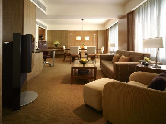 新加坡君悅大酒店(Grand Hyatt Singapore)至尊特大床套房