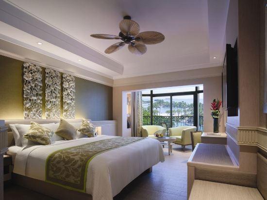 新加坡香格里拉聖淘沙度假酒店(Shangri-La's Rasa Sentosa Resort & Spa)池景豪華房