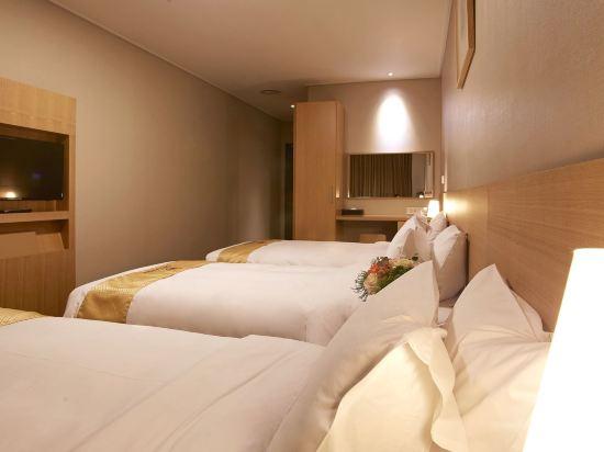 天空花園酒店明洞中心店(Hotel Skypark Central Myeongdong)三人房