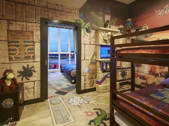 新山樂高度假酒店(Legoland Resort Hotel Johor Bahru)主題房