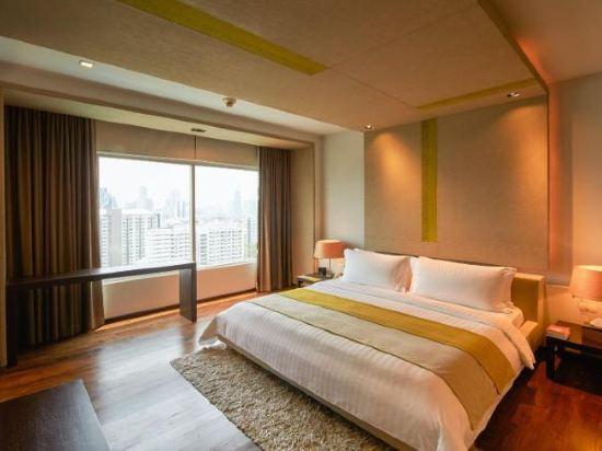 曼谷帕色哇公主酒店(Pathumwan Princess Hotel)行政高級套房