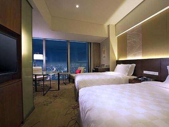 大阪萬豪酒店(Osaka Marriott Miyako Hotel)豪華雙床房