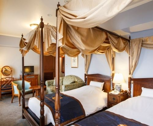 札幌蒙特利酒店(Hotel Monterey Sapporo)豪華雙床房