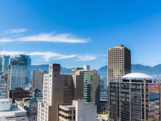 温哥華市中心萬豪德爾塔酒店(Delta Hotels by Marriott Vancouver Downtown Suites)外觀