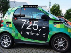 特羅姆瑟精致酒店(Smarthotel Tromsø)