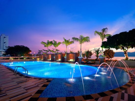 京那巴魯凱悅酒店(Hyatt Regency Kinabalu)室外游泳池