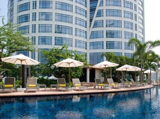 曼谷盛泰瀾中央世界商業中心酒店(Centara Grand at Centralworld)室外游泳池