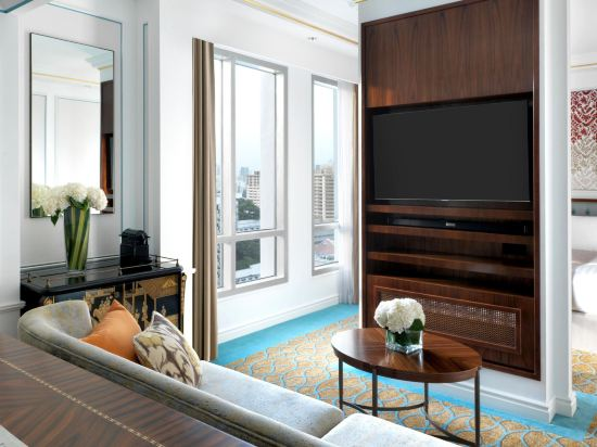 新加坡洲際酒店(InterContinental Singapore)至尊豪華房