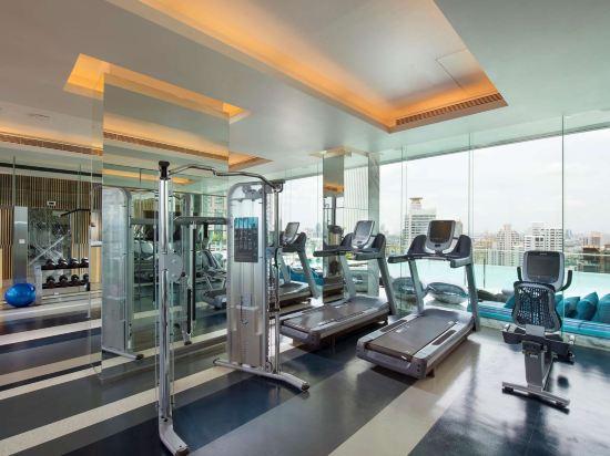 曼谷素坤逸希爾頓酒店(Hilton Sukhumvit Bangkok)健身房