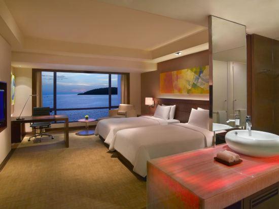 京那巴魯凱悅酒店(Hyatt Regency Kinabalu)俱樂部海景房