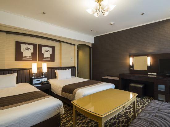 京都新阪急酒店(Hotel New Hankyu Kyoto)高級雙床房
